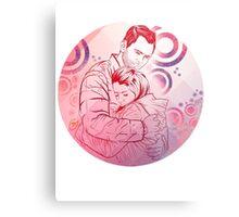 Community: Jeff & Annie Hug Metal Print