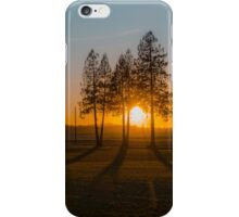 Setting the shadows straight iPhone Case/Skin