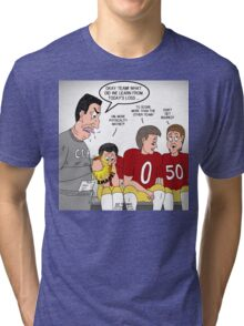Football Losing Lessons Learned Tri-blend T-Shirt