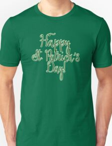 Happy St. Patrick's Day in Fun Font T-Shirt