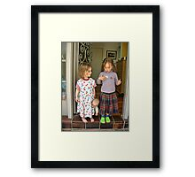 I am 5 Framed Print