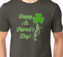 Happy St. Patrick's Day with Shamrock Unisex T-Shirt