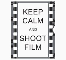 KEEP CALM AND SHOOT FILM One Piece - Long Sleeve