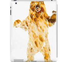 pizza bear iPad Case/Skin