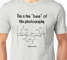 The ''base'' in film photography Unisex T-Shirt