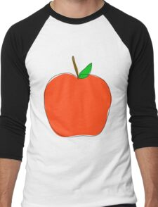 apple Men's Baseball ¾ T-Shirt
