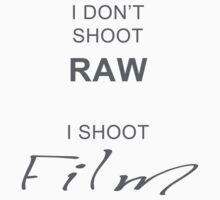 I don't shoot RAW - I shoot FILM Kids Clothes