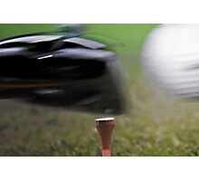 Golf - It's all about the Momentum Photographic Print