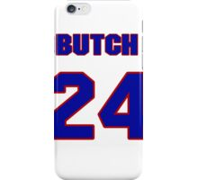 National baseball player Butch Hobson jersey 24 iPhone Case/Skin