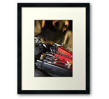 pedals  Framed Print