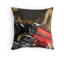 pedals  Throw Pillow