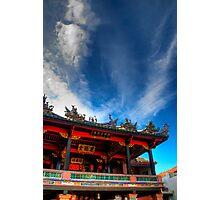 Penang clan temple Photographic Print