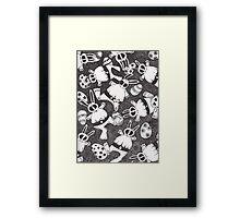Mutant Easter Bunnies in Limbo Framed Print