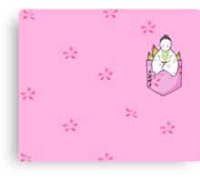 Pocket Princess Kaguya Canvas Print