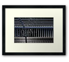 View from the Top  •  Sundial Bridge   Framed Print