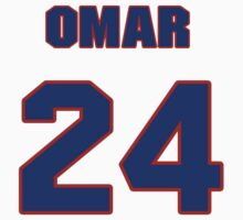 National baseball player Omar Moreno jersey 24 by imsport
