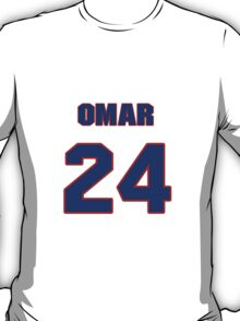 National baseball player Omar Moreno jersey 24 T-Shirt