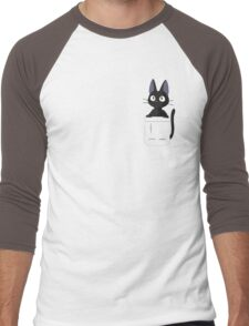 Jiji in my Pocket Men's Baseball ¾ T-Shirt