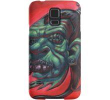 Shrunken Zombie Head Samsung Galaxy Case/Skin
