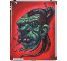 Shrunken Zombie Head iPad Case/Skin
