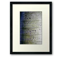 Solid Foundation Framed Print