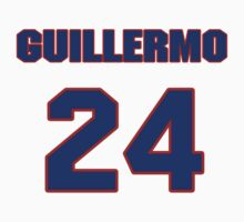 National baseball player Guillermo Quiroz jersey 24 by imsport
