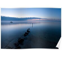 Fog Over The Bay Poster