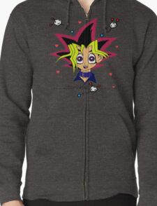 Color Obsession Zipped Hoodie