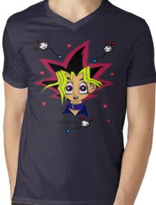 Color Obsession Mens V-Neck T-Shirt
