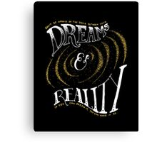 Dreams and Reality Canvas Print
