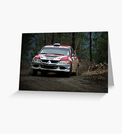 RallyMobil Concepcion Greeting Card