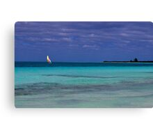 Lonely Saillor Canvas Print