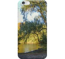 On Golden Waters, the Pocantico River  iPhone Case/Skin