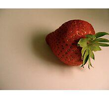 Mr. Strawberry Photographic Print