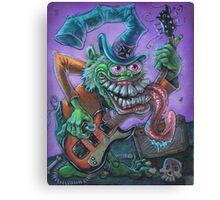 Surf Guitar Fink Canvas Print