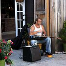 Striking a Chord ~ a Street Musician by SummerJade