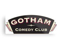 Comedy Gotham Metal Print