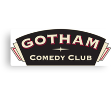 Comedy Gotham Canvas Print