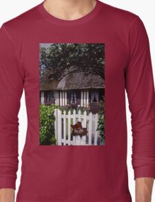 Paysages Normandie LOVE  landscapes 20 (c)(h) canon eos 5 by Olao-Olavia / Okaio Créations   1985 Long Sleeve T-Shirt