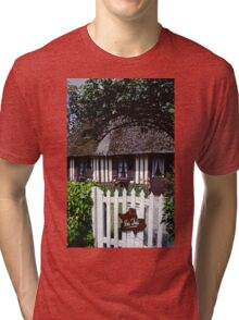 Paysages Normandie LOVE  landscapes 20 (c)(h) canon eos 5 by Olao-Olavia / Okaio Créations   1985 Tri-blend T-Shirt