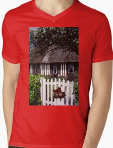 Paysages Normandie LOVE  landscapes 20 (c)(h) canon eos 5 by Olao-Olavia / Okaio Créations   1985 Mens V-Neck T-Shirt