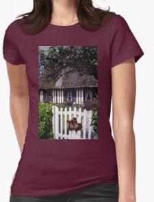 Paysages Normandie LOVE  landscapes 20 (c)(h) canon eos 5 by Olao-Olavia / Okaio Créations   1985 Womens Fitted T-Shirt