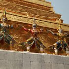 Bangkok Royal Palace Figures by DRWilliams