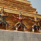 Bangkok Royal Palace Figures by DRWilliams