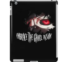 Embrace The Ghoul Inside iPad Case/Skin