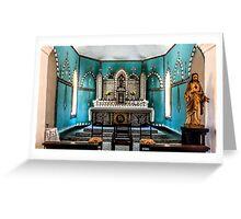 Sacred Heart Church Beagle Bay Greeting Card