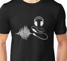 Headphones II White T-Shirt