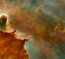 Hubble Space Telescope Print 0040 - Carina Nebula Details - Great Clouds - hs-2007-16-f-full_jpg by wetdryvac