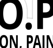HOPE - Hold On Pain Ends Sticker
