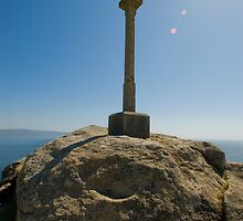 I see the light, Camino de Santiago, Fisterra, Galicia, Spain by Andrew Jones